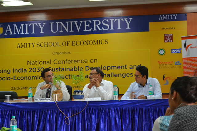 Textile Industry Session in Amity's National Conference on Sustainable Development Goals, India