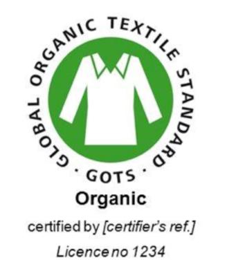 GOTS Logo cert licnr