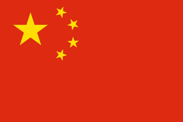 chinese flag medium